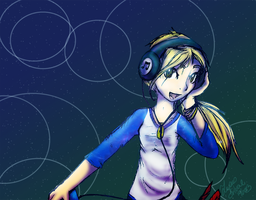 DJ Flops by LupusSilvae