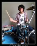 The Drummer by scabs-and-ashes