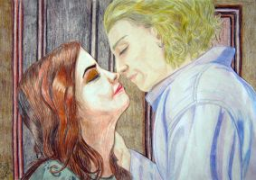 Jace and Clary The Mortal Instruments by LadyRafira