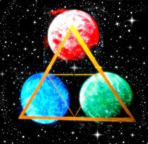 Planetary Triforce 2.0 by Abstract-Anomaly