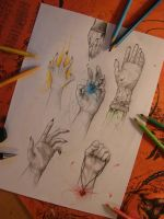 hand study - le me style by SunnyFire