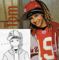 Tom Kaulitz by HitomixNeji