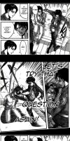 Attack on Titan... Levi's question by WXYZell