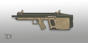 Kriss Style Assault Rifle by ModalMechanica