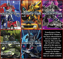 Transformers Prime Japan DVD Release by Leathurkatt-TFTiggy