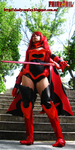 Erza Scarlet Fire/Flame Empress Armor Cosplay by Shady-Chan