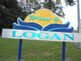 LOGAN sign welcome by avenueimage