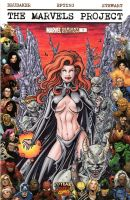 The Marvels Project (Goblin Queen) Sketch Cover by tonyperna