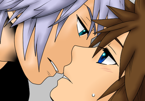 Another Soriku coloring by TemmieVega1999