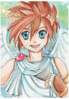 Pit - Kid Icarus by Azallie
