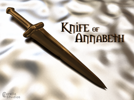 Knife of Annabeth by CorellaStudios