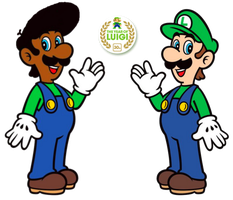 Luigi and Marvin -  The Year of Luigi by Legend-tony980