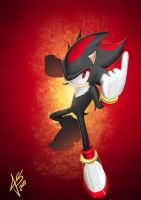 shadow the hedgehog by hikashy