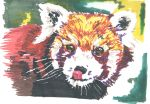 Red Panda Marker by CrazySkye