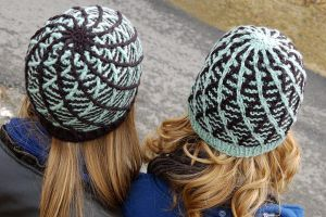 Cross Threaded Knit/Crochet Beanies for Tangled! by StrangeKnits