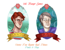 Tributes of District Four by Oranjes