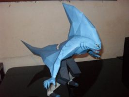 Kisame+Samehada Fusion Papercraft by MichelCFK
