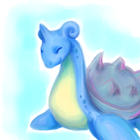 Lapras by printscreen-kii