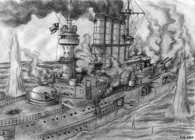 Battle of the Falkland Islands by DeepWoodian