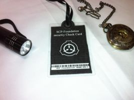 Fack SCP Foundation security Card. by Kardien