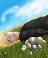 FMA - Edward Elric - Rest by Dorcyy