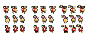 bulbmin sprites by Ryanfrogger