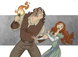 Sansa and Sandor by kyla79