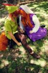 Maid Marian and Robin Hood by ChibiExorcistLiz