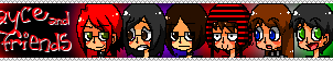 Maniacal Friends Stamp by NephilV