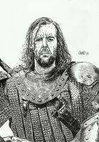 Sandor Clegane by Cromoedge
