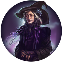 Old Witch by Dina-Tukhvatulina