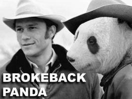 Brokeback Panda by Clint by Pandashopping