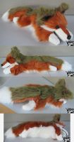 20in Floppy Custom Red Fox by AnimalArtKingdom