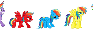 Rainbow Dash's emotions (Inside Out style) by FreshlyBaked2014