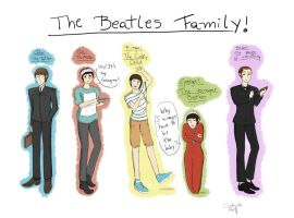 The Beatles Family by Coffee-Coke
