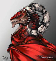 Mnemosyne Dragon by SpiraxDracowolf