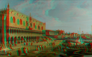 Artistic Place 3D Anaglyph Red Cyan by Fan2Relief3D