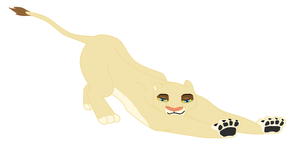 Tiroa Stretching by Daughter-Of-Wolves