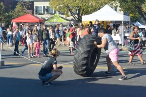2014 Fluff Fest, Tire Rolling by Miss-Tbones