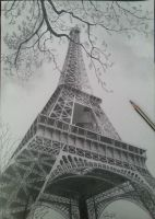 Eiffel Tower by Sabo93