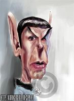 Mr Spock by nelsonsantos