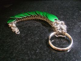 Jade Dragon Key-Chain by Charlie-Ripley