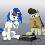 Vinyl, Octavia, and The Roaring Silence by DimFann
