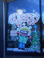 Grocery Outlet Christmas 2012 by Firefaryee