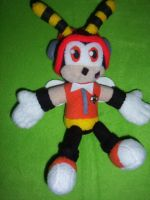 8 INCH CHARMY THE BEE PLUSHIE by Victim-RED
