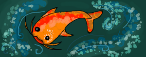Scatter: Koi Fish by Roxyielle