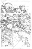 Wolvie Jaggy sample page 2 by fragcomics