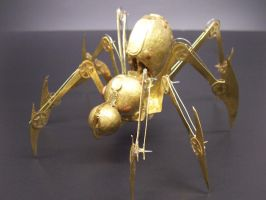 Clockwork Arachnid by cazouillette