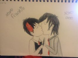 My First Frerard Kiss. by Elvis-SpringsteenFan