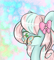 .:Butterfly Kisses:. by LlamaBee